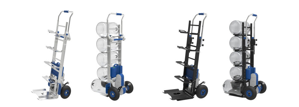 XSTO Water Bucket Device On Electric Stair Climbing Dolly