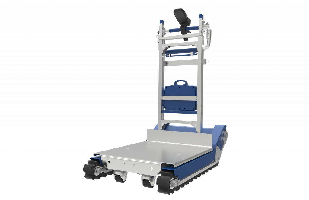 powered tracked stair climber